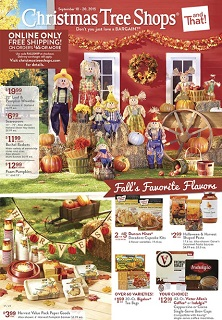 Christmas Tree Shops Flyer Sales