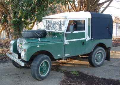 Series 1 Land Rover 86