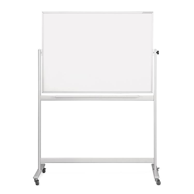 Sturdy Dry Wipe Double-Sided Rolling Whiteboard