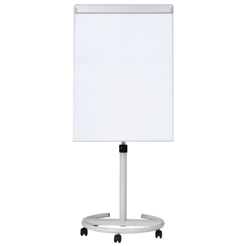 Adjustable Easel Stand Whiteboard Flip Chart with Wheel