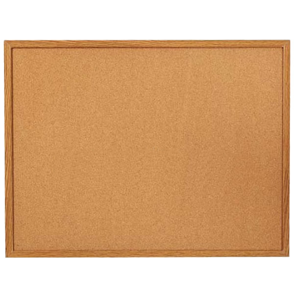 MDF Frame Corkboard for Office Home Primary School