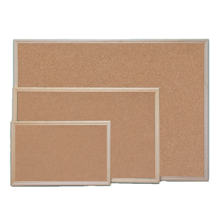 Pine Pinboard Cork Surface