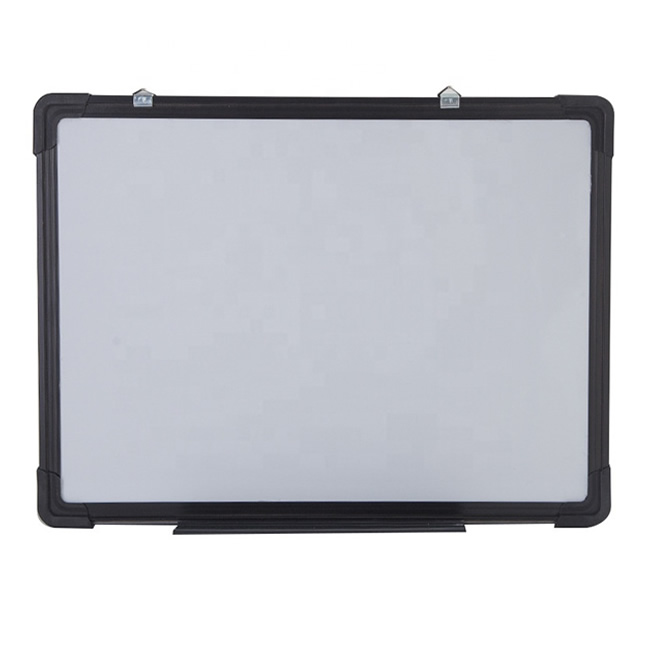 Magnetic Black Frame Whiteboard