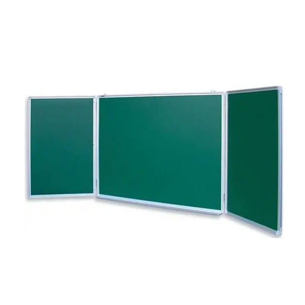 Wall Mounted Folded Chalkboard for Classroom