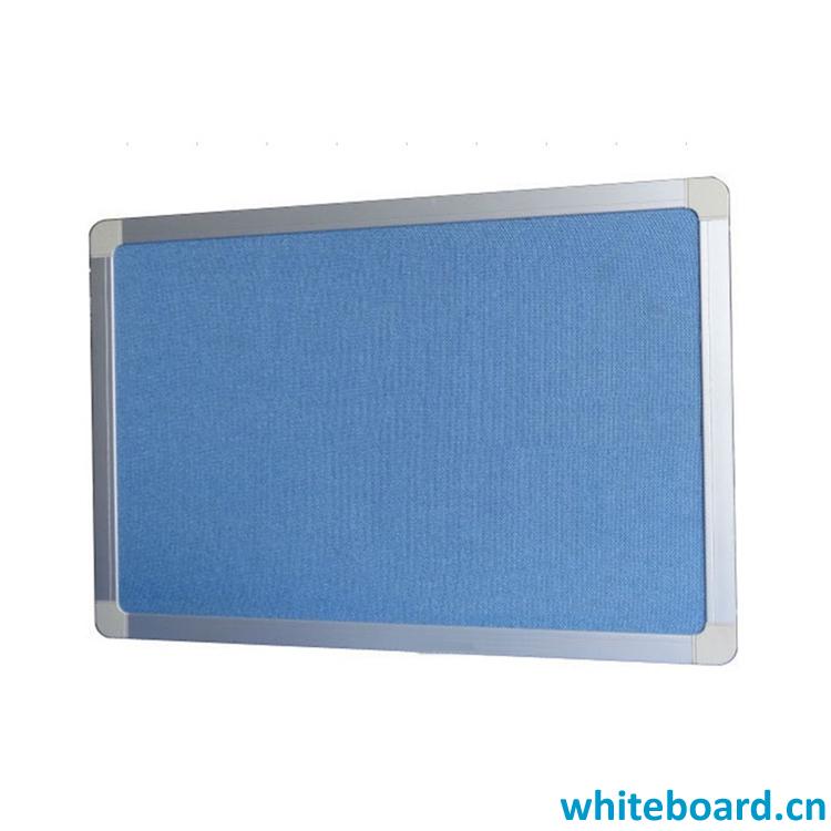 Aluminium Frame ABS Corner Magnetic Felt Board