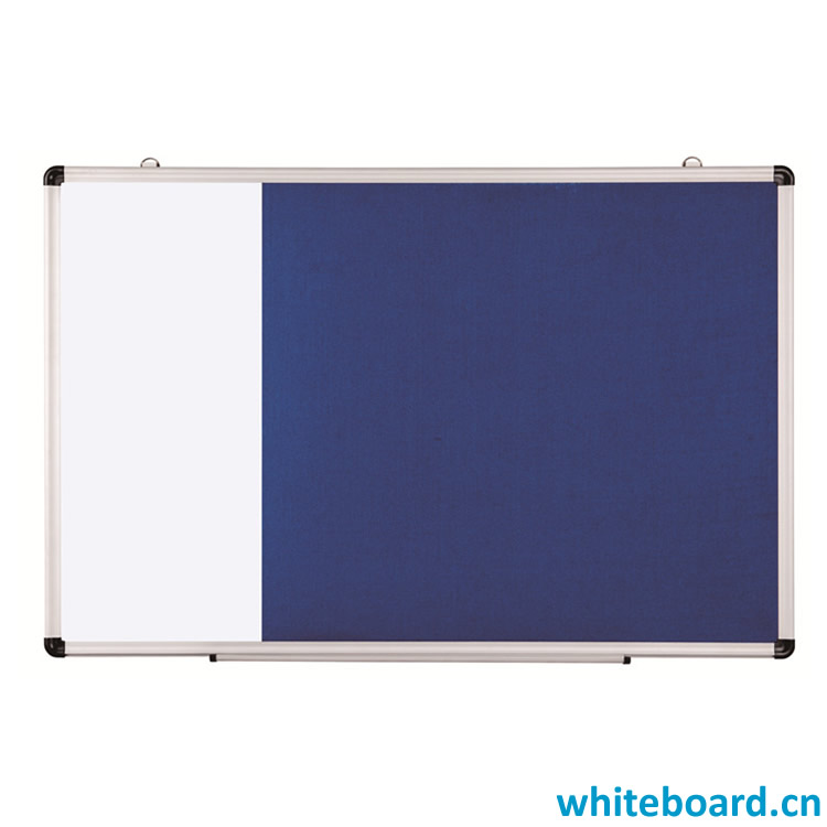 Combination Felt Board and Whiteboard