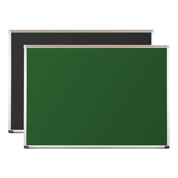 Porcelain Steel Chalkboard with Aluminum Trim
