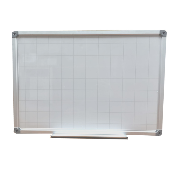 T22 Planning Wall Mount Magnetic Whiteboard with Pen Tray