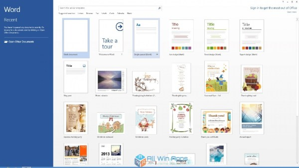Microsoft Office Professional 2013 Free Download - All Win ...