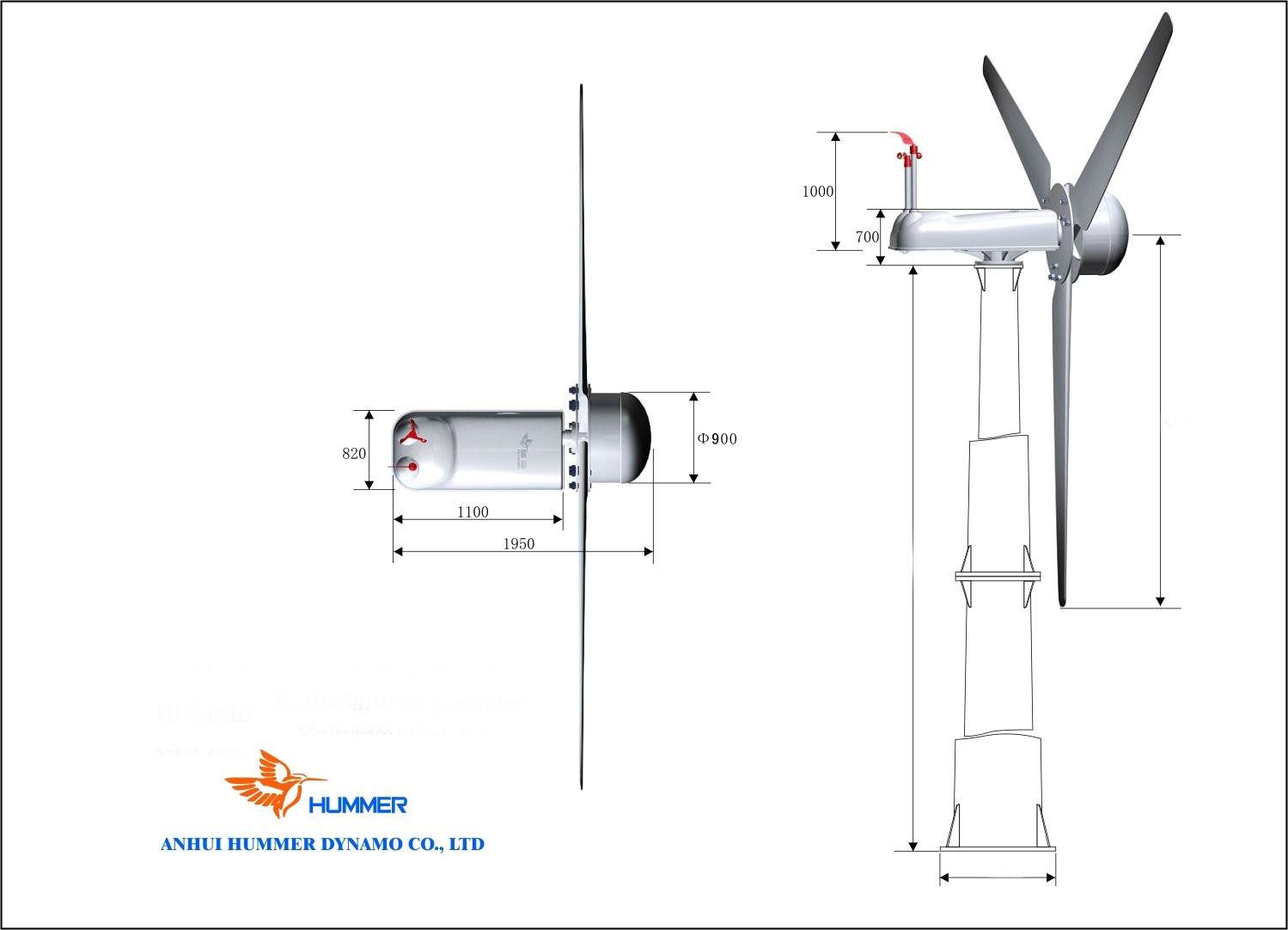 H10 0 30kw Wind Turbine From China Manufacturer Amp Suppliers
