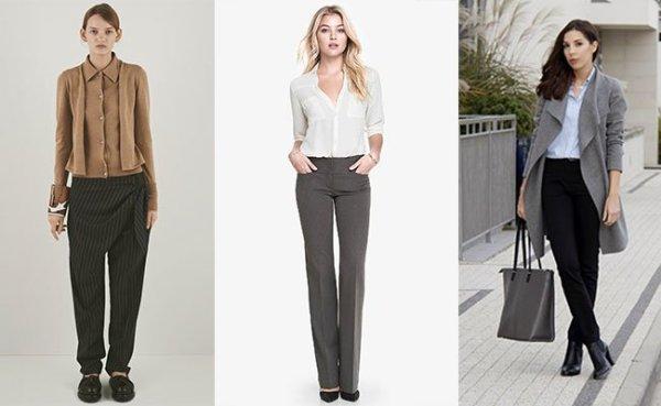 Модные женские брюки 2016 обзор актуальных моделей Фото