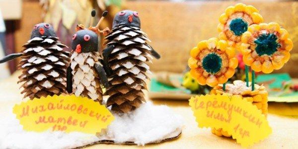 Поделки на тему Осень своими руками для детского сада и ...