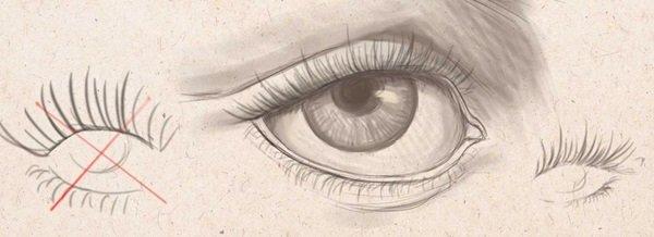 Как нарисовать глаза человека карандашом поэтапно: видео ...