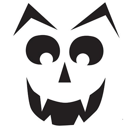 Трафареты и картинки на Хэллоуин для украшения: для ...