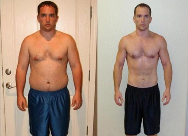 Реальные фото до и после похудения для мотивации (41 шт)