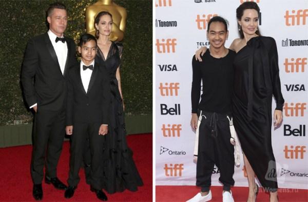 Дети Анджелины Джоли. Сколько родных и приемных детей у ...