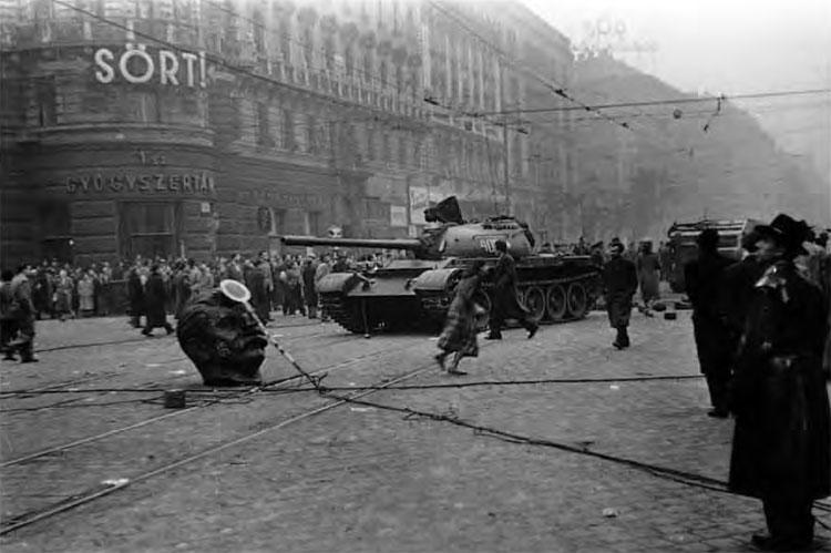 guerra fredda ungheria 1956