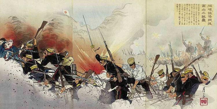 Japanese 1904 1905 War Engravings