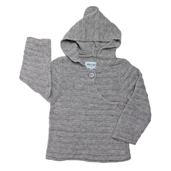 Mini A Ture grey cardigan