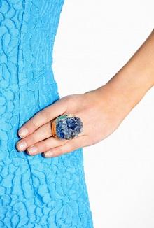 Dara Ettinger Lark Dyed Amethyst ring