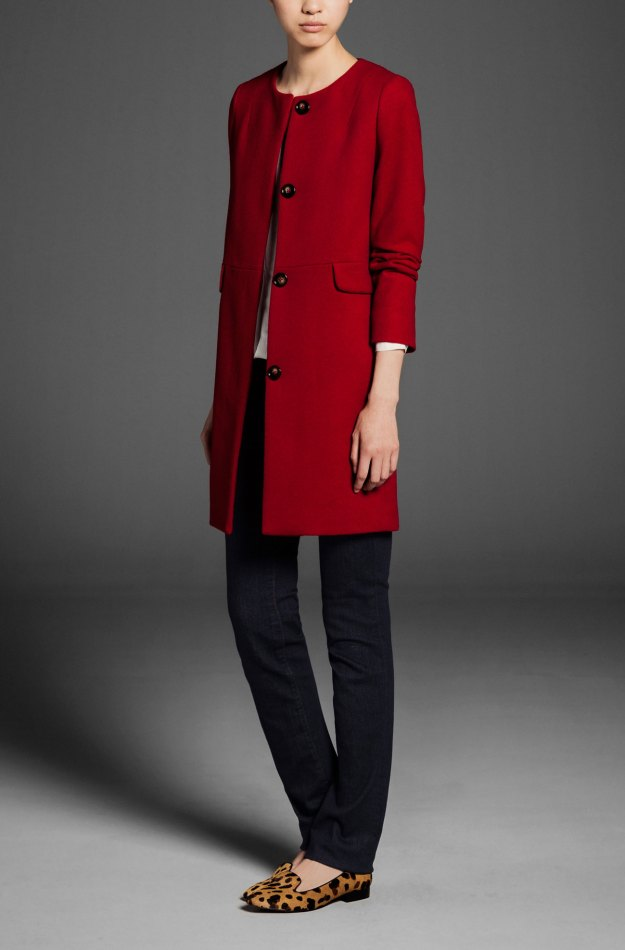 md red coat