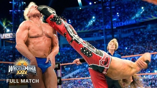 FULL MATCH — Shawn Michaels vs. Ric Flair – Career Threatening Match: WrestleMania XXIV
