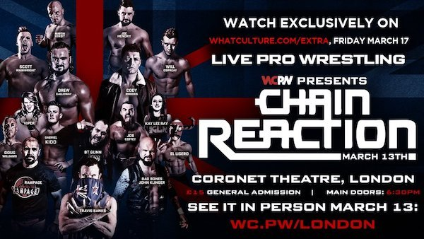 Watch WCPW Chain Reaction 2017 3/18/2017 Full Show Online Free
