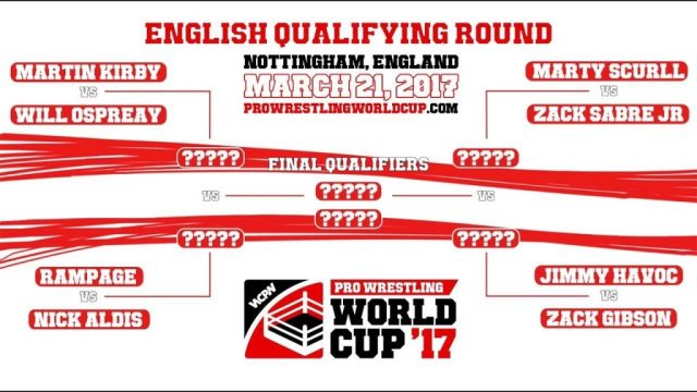 Watch WCPW Pro Wrestling World Cup: English Qualifier Full Show Online Free