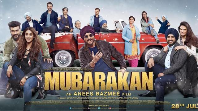 Mubarakan (2017) Full Movie Watch Online HD Print Free Download