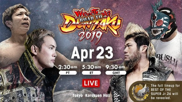 Watch NJPW Road to Wrestling Dontaku 2019 Day 7 Full Show Online Free
