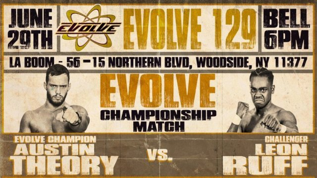 Watch Evolve Wrestling 129 iPPV 6/29/2019 Full Show Online Free