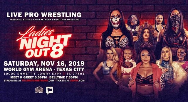Watch Ladies Night Out 8 iPPV 11/16/2019 Full Show Online Free