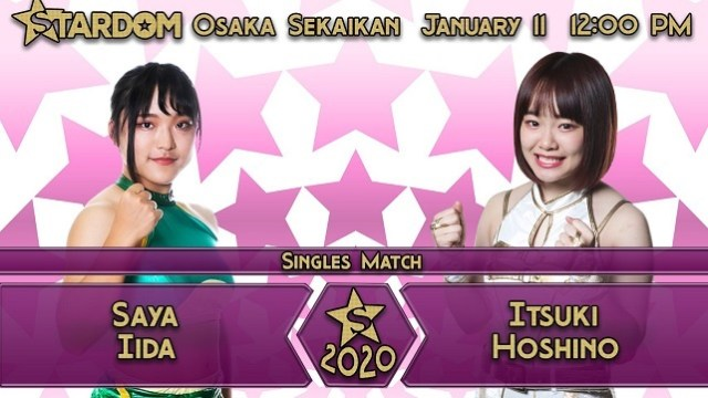 Watch Stardom New Years Stars 1/11/2020 Full Show Online Free