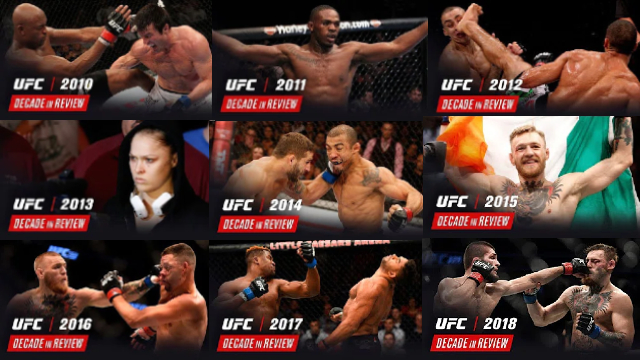 Watch UFC Decade in Review 2010 – 2019 Online Free