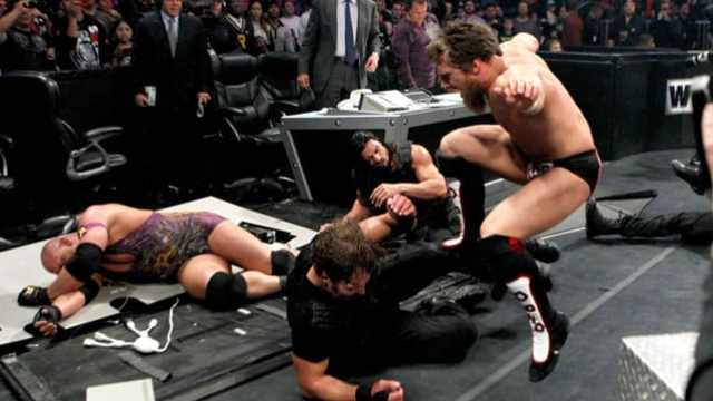 Watch Team Hell No and Ryback vs. The Shield TLC 2012 Full Match Online Free