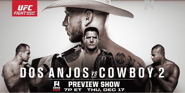 Watch UFC Fight Night Dos Anjos vs Cowboy 2 12/19/2015 Full Show Online Free