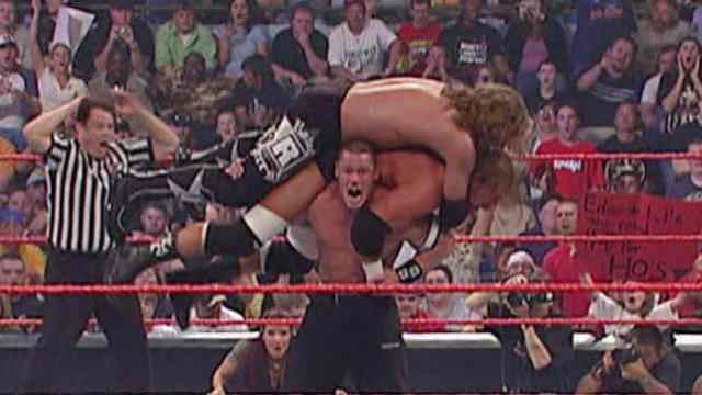 Watch John Cena vs Triple H vs Edge Full Match Online Free (Bloody Match)