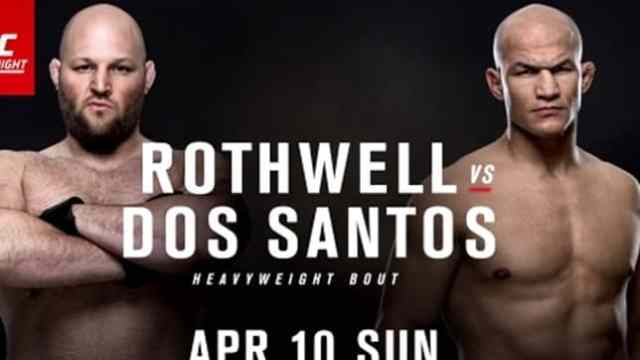 Watch UFC Fight Night Rothwell vs. Dos Santos 4/10/2016 Full Show Online Free