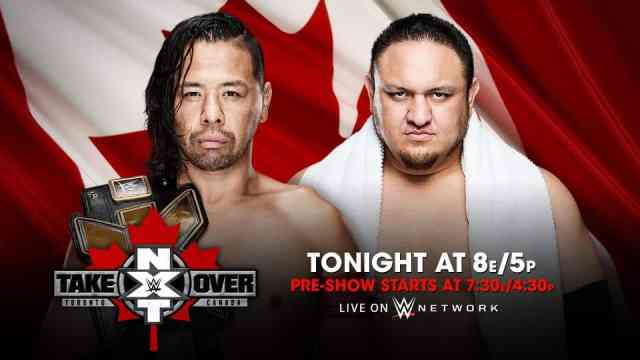 Watch WWE NXT TakeOver: Toronto 11/19/2016 Full Show Online Free