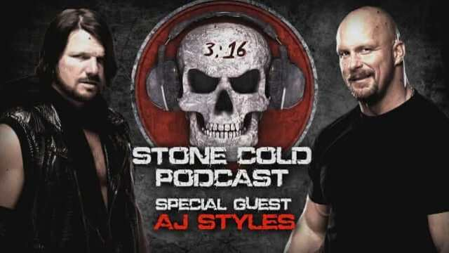 Watch WWE Stone Cold Podcast with AJ Styles 6/20/2016 Full Show Online Free