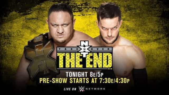Watch WWE NXT TakeOver: The End 6/8/2016 Full Show Online Free