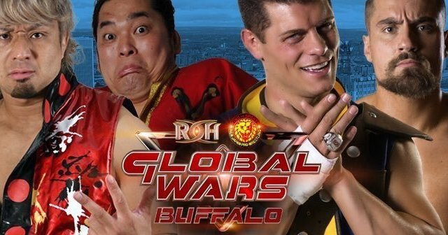 Watch ROH/NJPW Global Wars Buffalo 10/12/2017 Full Show Online Free