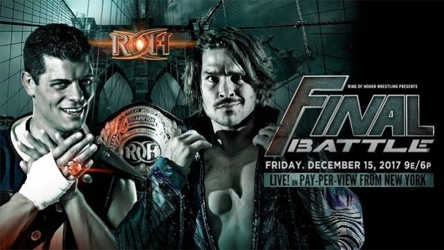 Watch ROH Final Battle 2017 PPV 12/15/2017 Full Show Online Free