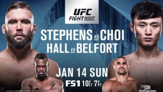 Watch UFC Fight Night 124: Stephens vs. Choi 1/14/2018 Full Show Online Free