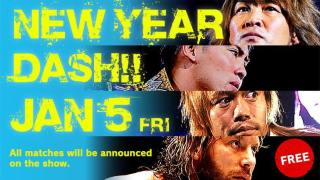 Watch NJPW New Year Dash 2018 1/5/2018 Full Show Online Free