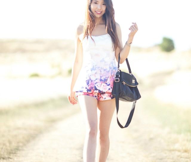 Ally Gong Floral Tobi Romber Kate Spade Model Korean Asian Chinese Girl Tall