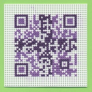 QR Code with Colored Pattern