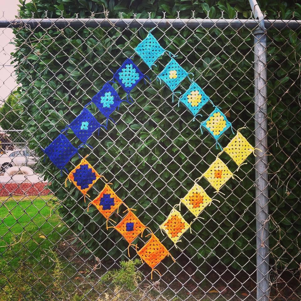 Crocheting Yarnbomb Projects