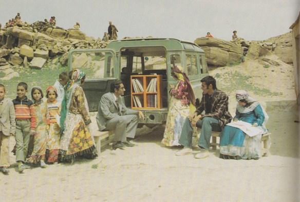 Iranian bookmobile