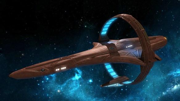 Vulcan spaceship